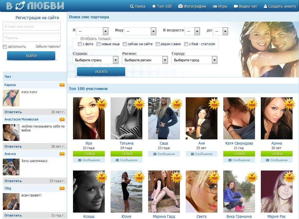 сеть регистрацией с социальная знакомства для