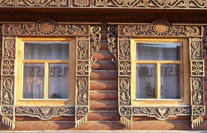 Скидки на деревянные наличники под заказ от 10 шт.
