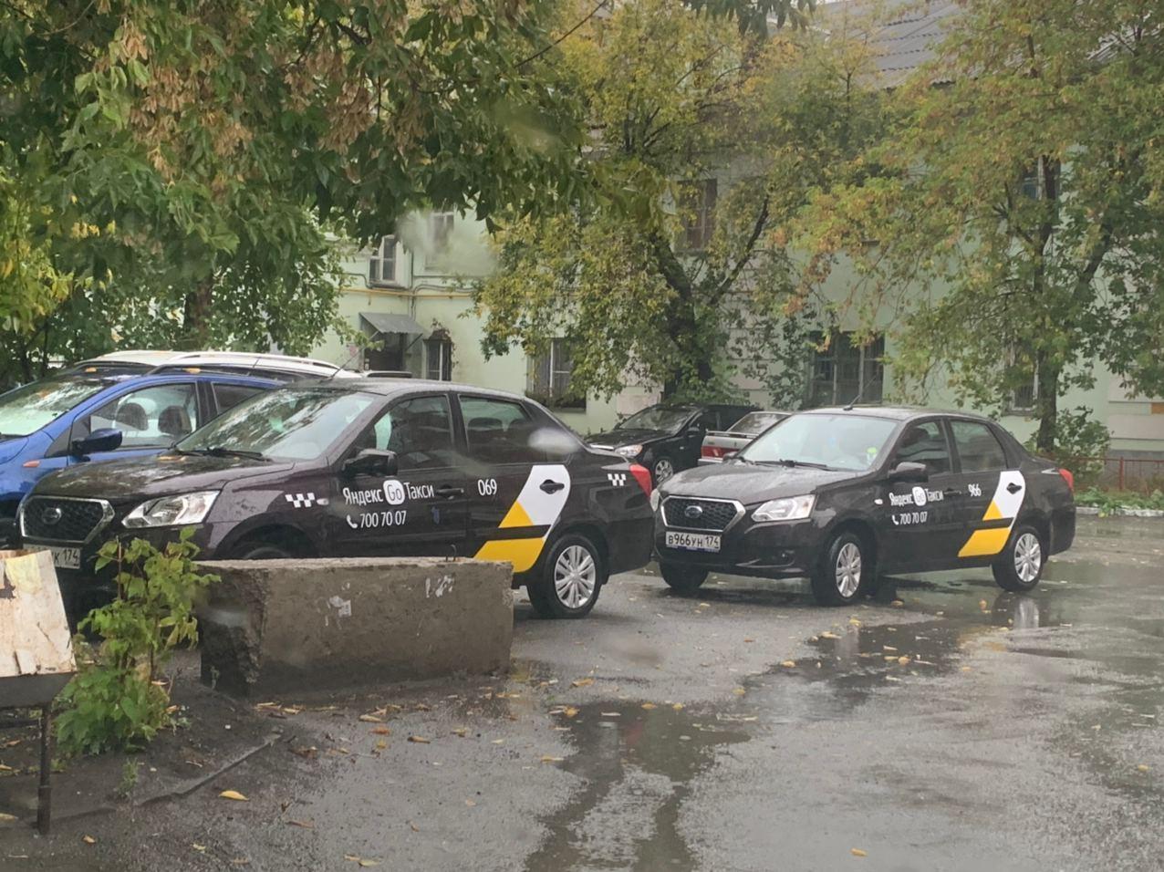 Работа водителем такси в Челябинске